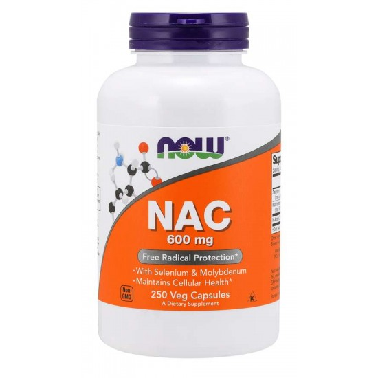 NAC 600 mg - 250 Veg Capsules