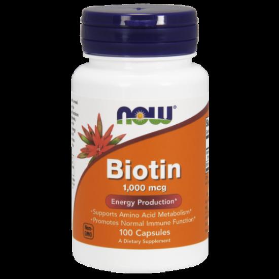 Biotin 1000 mcg - 100 Veg Capsules