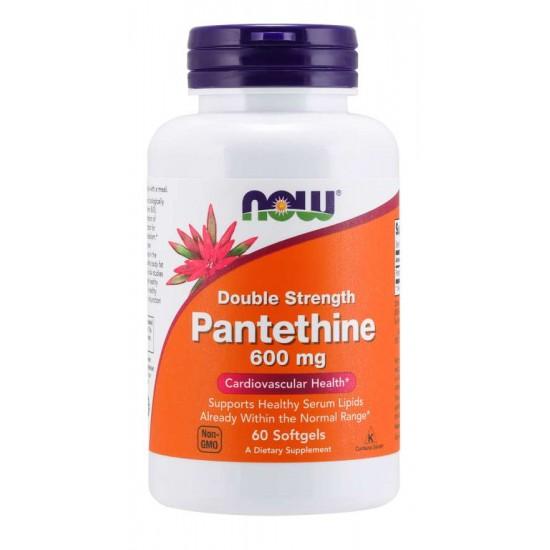 Pantethine 600 mg - 60 Softgels / Szavatossági idő: 2022-06-30