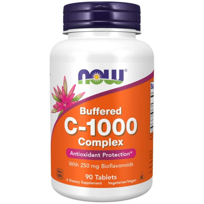 C-1000 Complex - 90 Tablets Buffered C