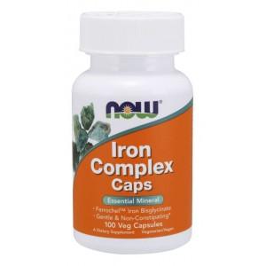 Vas / Iron Complex Caps 100 Veg Capsules