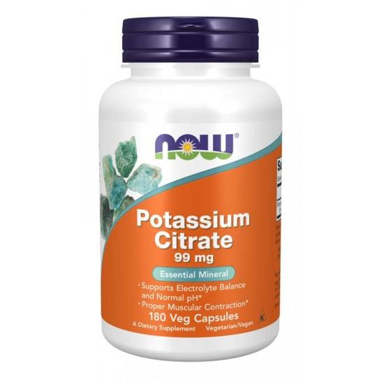 Potassium Citrate / Kálium-Citrát/ 99 mg - 180 Veg Capsule