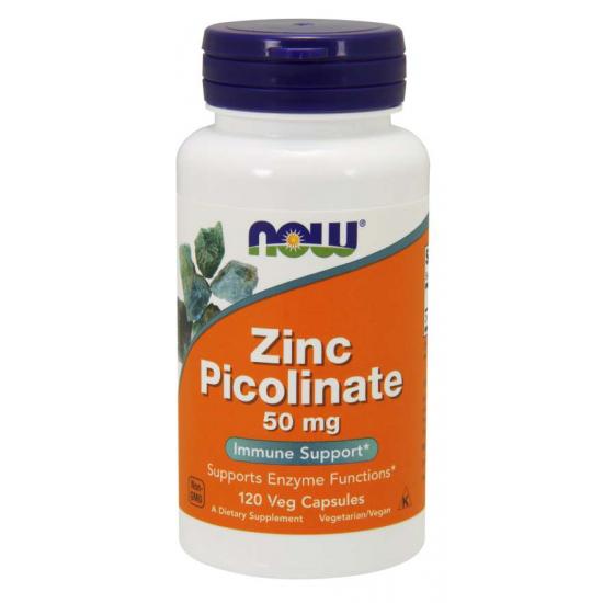 Zinc Picolinate 50 mg - 120 Veg Capsules