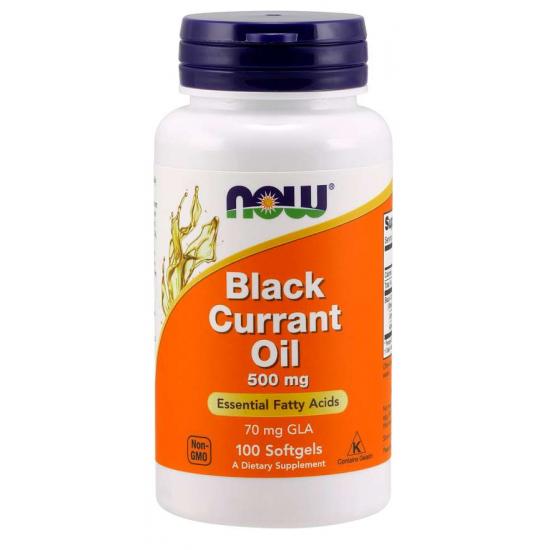 Black Currant Oil 500 mg 100 Softgels / Fekete ribizli