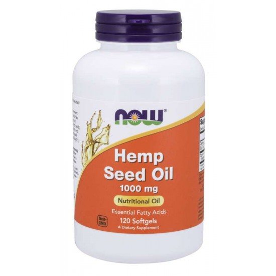 Hemp Seed Oil 1000 mg 120 Softgels