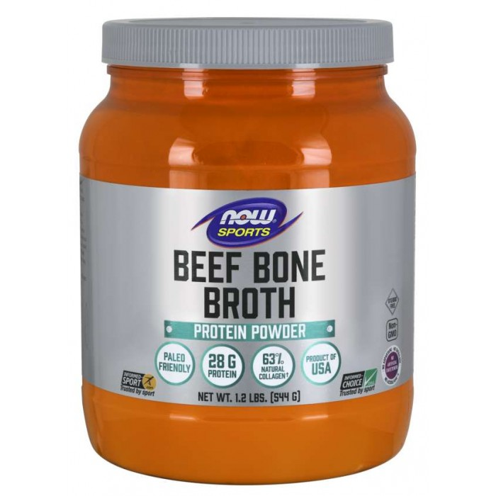 Bone Broth, Beef Powder (544 g)/ Marhakollagén