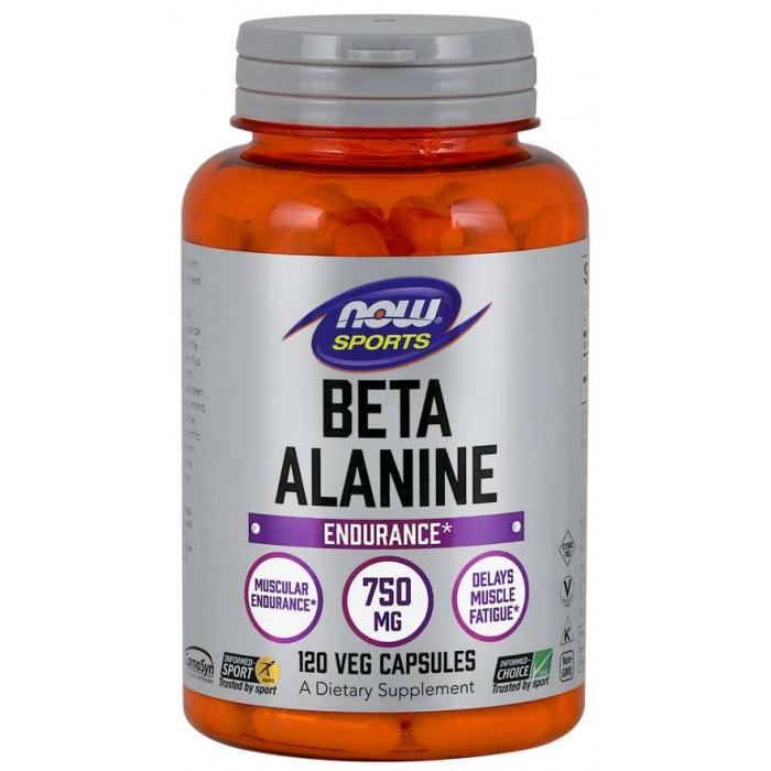 Beta-Alanine 750 mg 120 Capsules