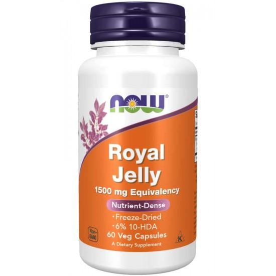 Royal Jelly 1500 mg 60 Veg Capsules