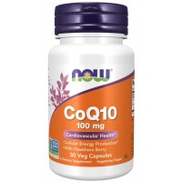 CoQ10 100 mg with Hawthorn Berry - 30 Veg Capsules