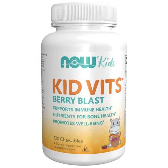 Kid Vits Berry Blast - 120 Chewables