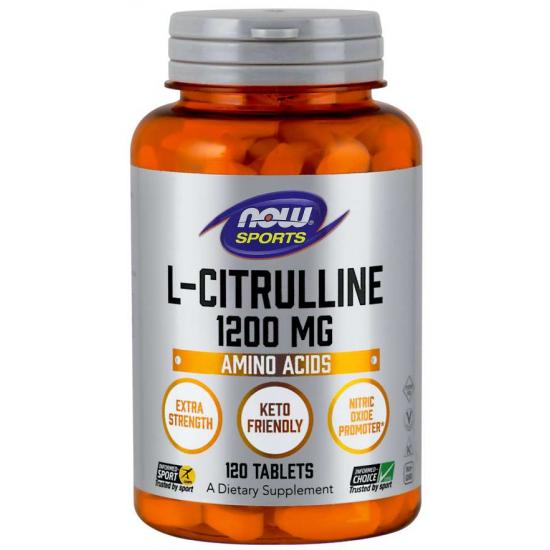 L-Citrulline, Extra Strength 1200 mg 120 Tablets