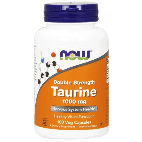 Taurine, Double Strength 1000 mg 100 Veg Capsules