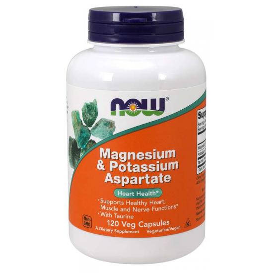 Magnesium & Potassium Aspartate 120  Veg Capsules