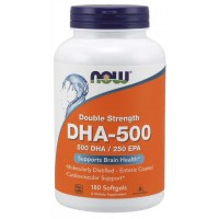 DHA-500, Double Strength 180 Softgels