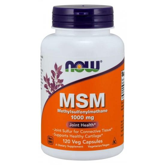 MSM 1000 mg 120 Veg Capsules