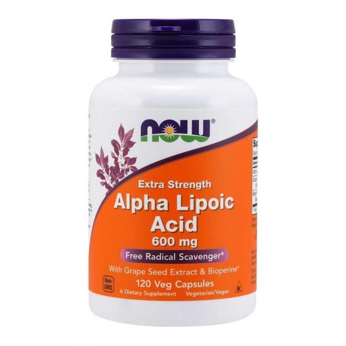 Alpha Lipoic Acid 600mg 120 Veg Caps.