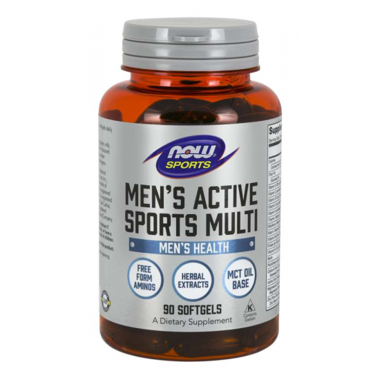Men's Active Sports Multi 90 Softgels