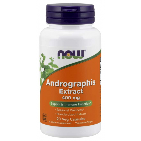 Andrographis Extract 400 mg 90 Veg Capsules