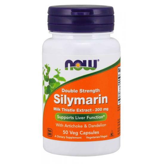 Silymarin, Double Strength 300 mg 50 Veg Capsules