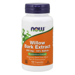 Willow Bark Extract 400 mg 100 Capsules / Fűzfa kéreg kivonat