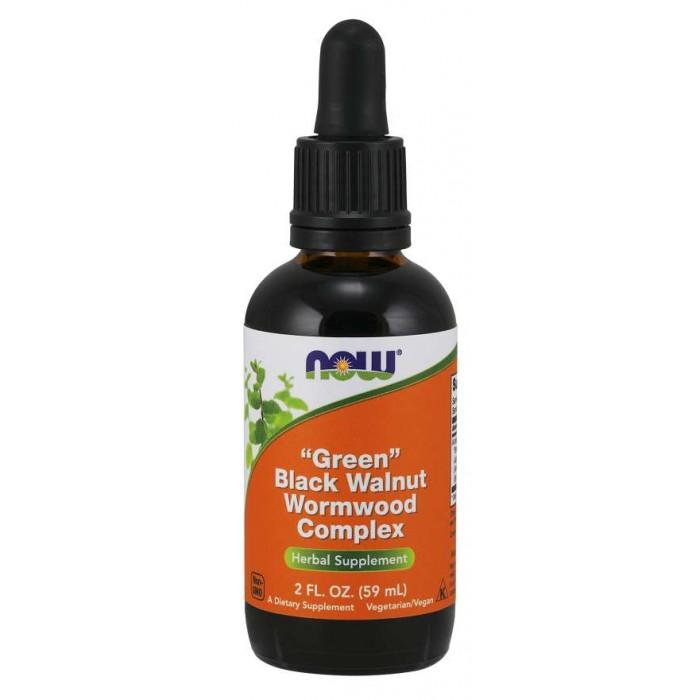 """Green"" Black Walnut Wormwood Complex Liquid (59 ml) ""Zöld"" fekete dió és fehér üröm Complex"