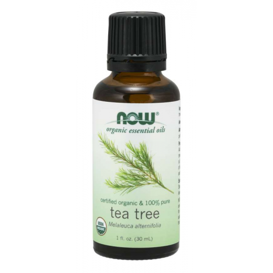 Tea Tree Oil, Organic 100% Pure 1 oz. (30 ml)
