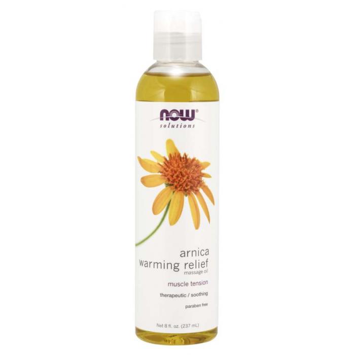 Arnica Warming Relief Massage Oil (237 ml)