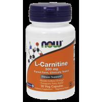 L-Carnitine 500 mg Veg 30 Capsules