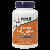Acetyl-L Carnitine 750mg  90 tabl.