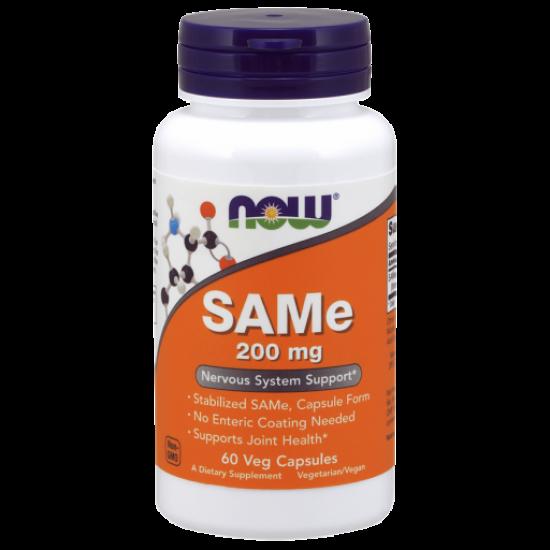 SAMe 200 mg 60 Veg Capsules