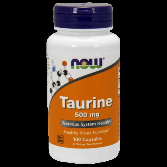 Taurine 500 mg - 100 Capsules