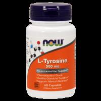 L-Tyrosine 500 mg - 60 Capsules