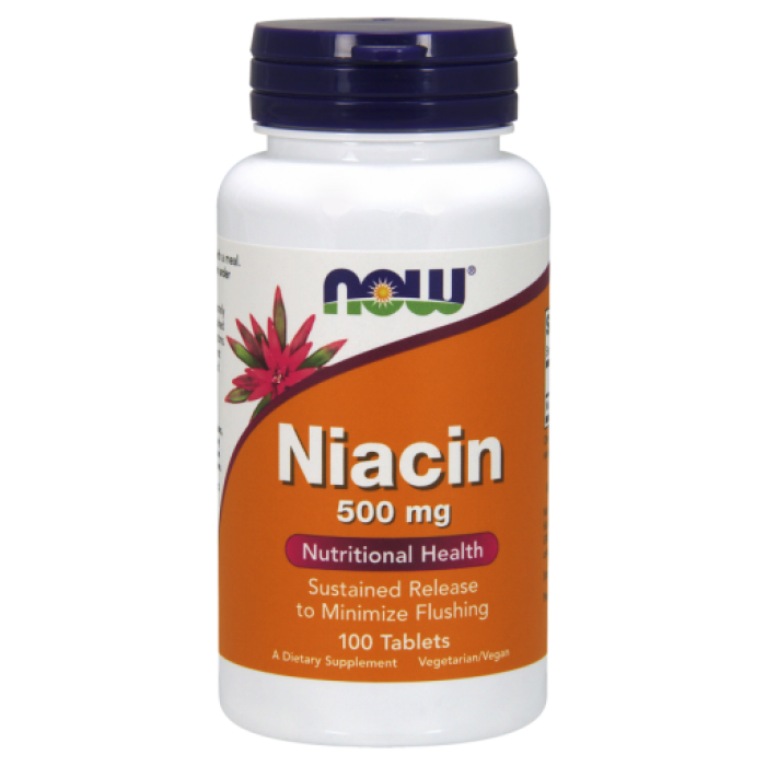 Niacin 500 mg 100 Tablets
