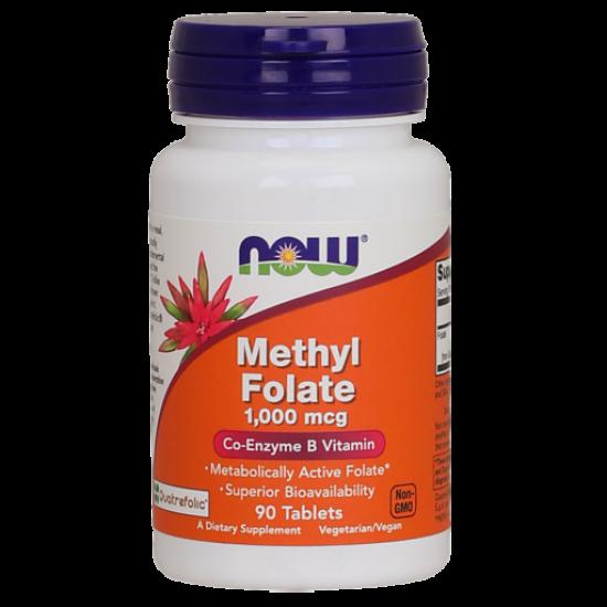 Methyl Folate 1,000 mcg
