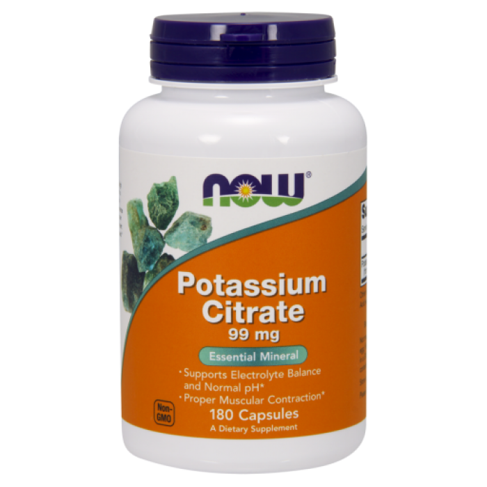 Potassium Citrate / Kálium-Citrát/ 99 mg - 180 Capsules