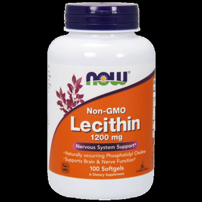 Lecithin 1200 mg - 100 Softgels