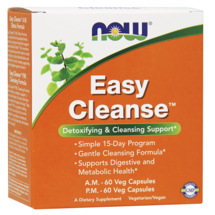 Easy Cleanse™ AM PM 120 Veg Capsules (2 Bottles with 60 each)