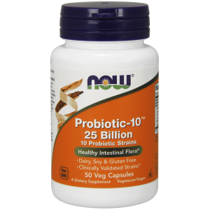 Probiotic-10™ 25 Billion - 50 Veg Capsules