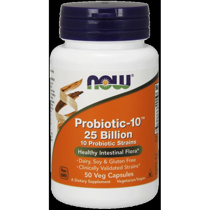 Probiotic-10™ 25 Billion - 50 Veg Capsules
