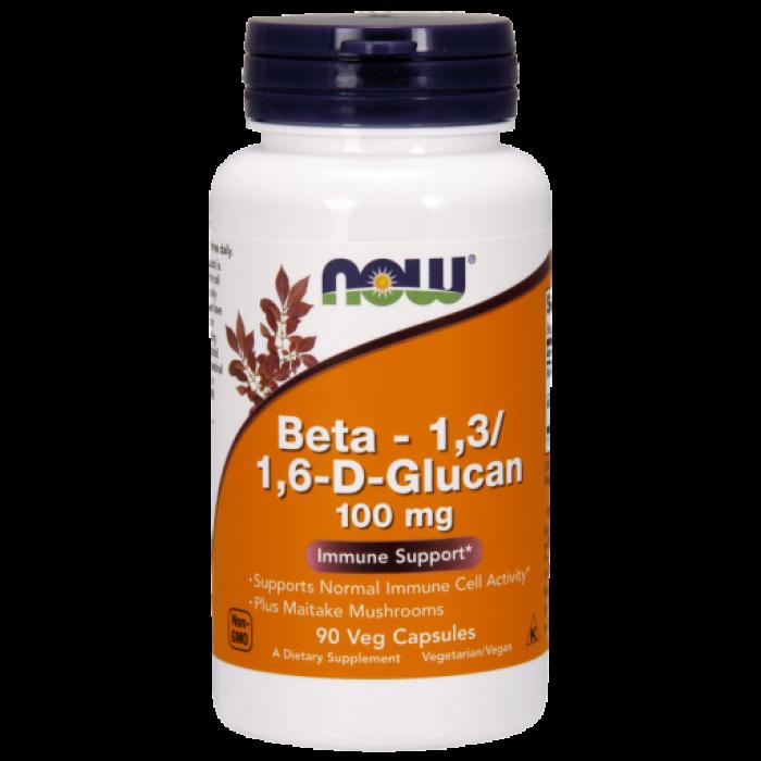 Beta 1,3/1,6- D -Glucan 100 mg - 90 Vcaps®