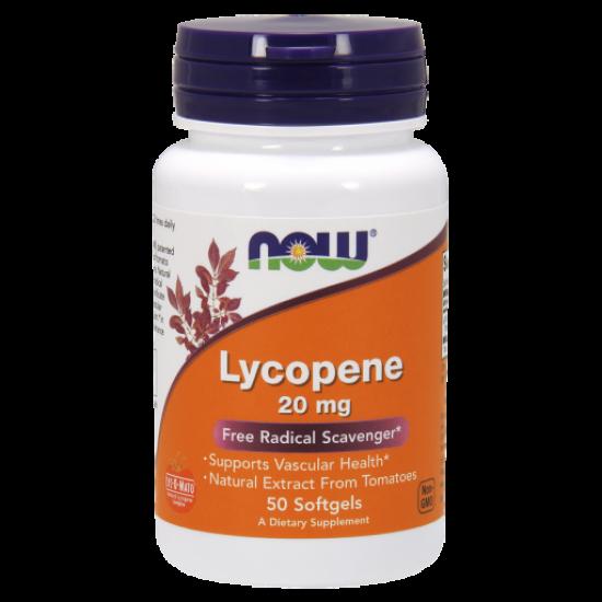 Lycopene 20mg 50 Softgels