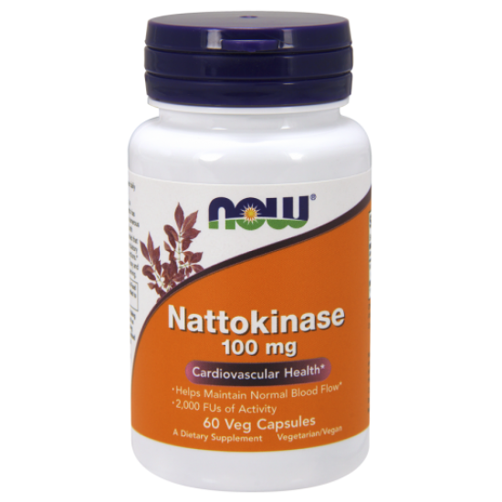 Nattokinase 100 mg - 60 Veg Capsules