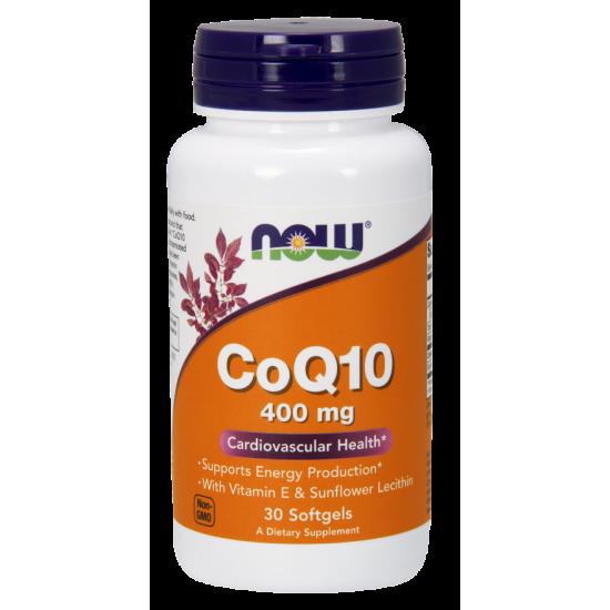CoQ10 400 mg - 30 Softgels