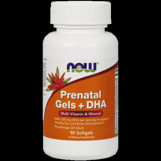 Prenatal Gels + DHA 90 softgels