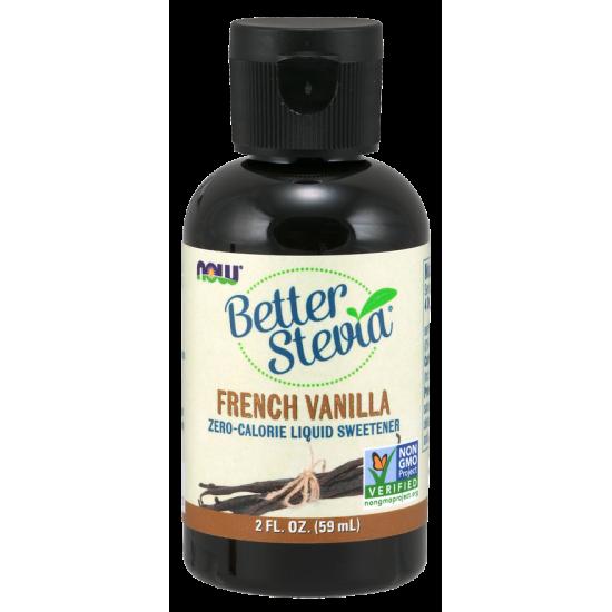 BetterStevia ™ (francia vanília) folyékony kivonat - 2 oz.