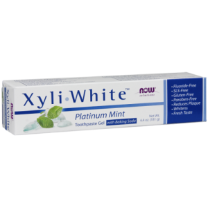 Xyliwhite™ Platinum Mint Toothpaste Gel with Baking Soda (181 g)