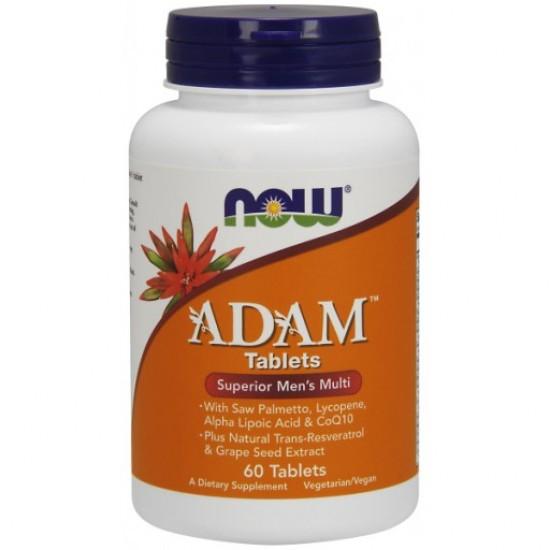 ADAM™ Superior Men's Multiple Vitamin - 60 Tablets