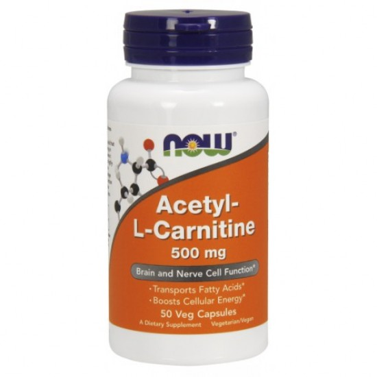 Acetyl-L Carnitine 500mg 50Vcaps