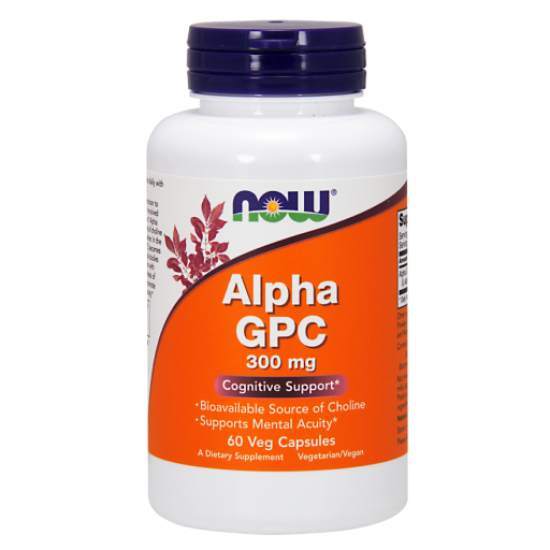 Alpha GPC 300 mg - 60 Veg Capsules