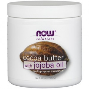 Cocoa Butter With Jojoba Oil - 6.5 oz. (192 ml)  Kakaóvaj  jojoba olajjal.